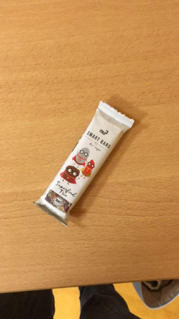 Barre de céréales et super-aliments Nu3