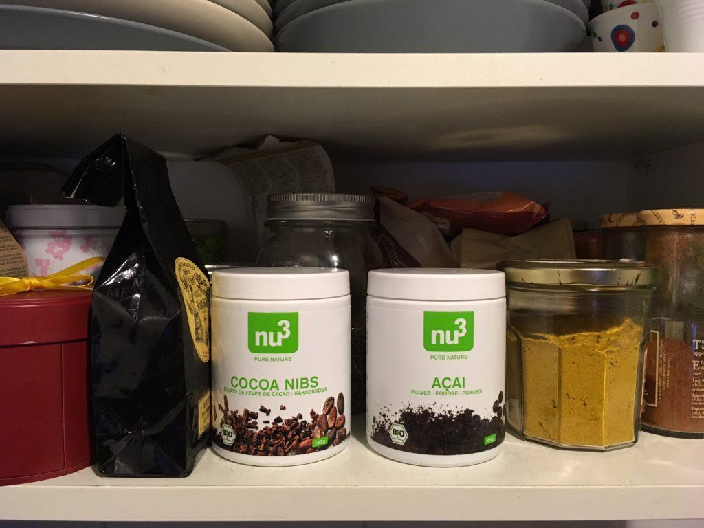 Fèves de Cacao et Baies d'Açaï