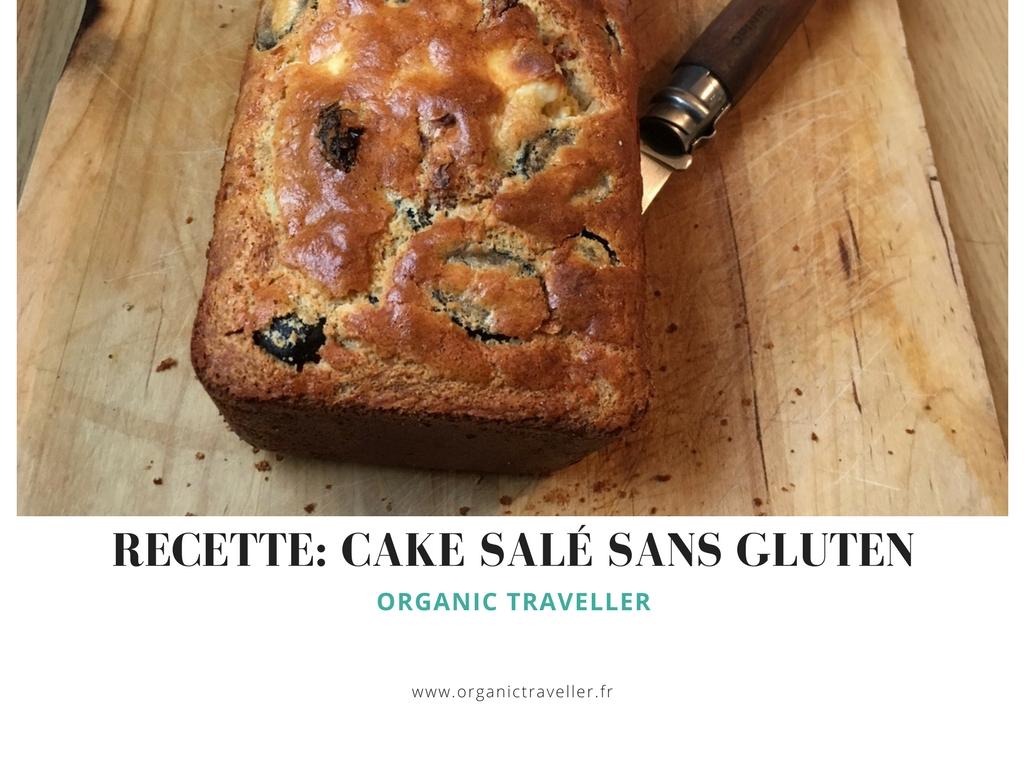 Recette : Cake salé aux tomates séchées, feta et olives noires (facile & sans gluten)