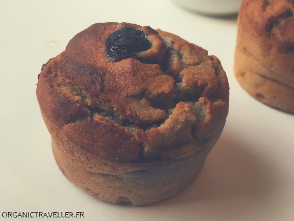 Recette : Muffins Banane & Myrtilles